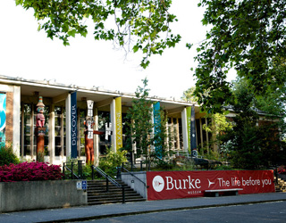 Outside view of the Burke Museum