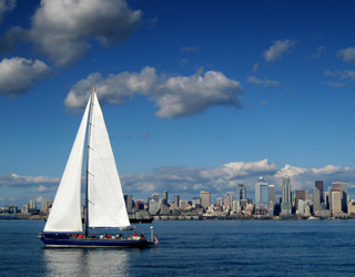 Sailing Seattle